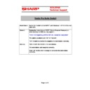 Sharp VENTA PRO (serv.man27) Technical Bulletin