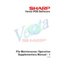Sharp VENTA (serv.man11) Service Manual
