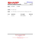 Sharp AX-1100(R)M, AX-1100(SL)M (serv.man17) Technical Bulletin