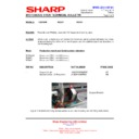 Sharp R-22AMM (serv.man15) Technical Bulletin