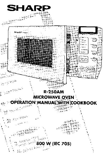 sharp r 250am serv man2 service manual view online or download rh servlib com