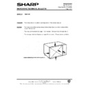 Sharp R-4G15M (serv.man11) Technical Bulletin