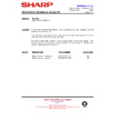 Sharp R-64 (serv.man12) Technical Bulletin