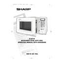 Sharp R-641AM (serv.man2) User Guide / Operation Manual