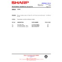 Sharp R-642M (serv.man10) Technical Bulletin