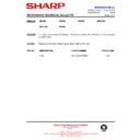 Sharp R-642M (serv.man11) Technical Bulletin