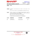 Sharp R-642M (serv.man13) Technical Bulletin