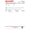 Sharp R-642M (serv.man15) Technical Bulletin