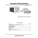 Sharp R-642M Service Manual