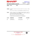 Sharp R-653 (serv.man15) Technical Bulletin