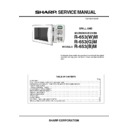 Sharp R-653 (serv.man3) Service Manual