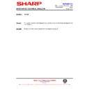 Sharp R-752M (serv.man10) Technical Bulletin