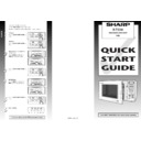 Sharp R-752M (serv.man3) User Guide / Operation Manual