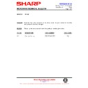 Sharp R-752M (serv.man9) Technical Bulletin