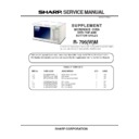Sharp R-795M (serv.man3) Service Manual