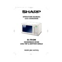 Sharp R-795M (serv.man30) User Guide / Operation Manual