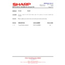 Sharp R-795M (serv.man34) Technical Bulletin