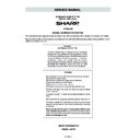 Sharp R-795M (serv.man5) Service Manual