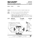 Sharp R-7A63M (serv.man5) Technical Bulletin