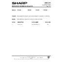 Sharp R-7A63M (serv.man8) Technical Bulletin