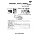 Sharp R-7A67M Service Manual