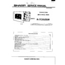 Sharp R-7C55M Service Manual