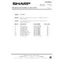 Sharp R-7C58M (serv.man7) Technical Bulletin