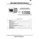 Sharp R-7C58M Service Manual