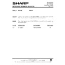 Sharp R-7E53M (serv.man7) Technical Bulletin