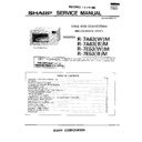 Sharp R-7E53M Service Manual