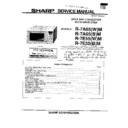 Sharp R-7E55M Service Manual