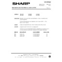 Sharp R-7N76M (serv.man10) Technical Bulletin