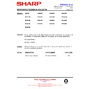 Sharp R-7N76M (serv.man5) Technical Bulletin