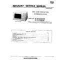 Sharp R-7V10 Service Manual