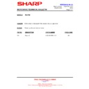 Sharp R-82STM (serv.man5) Technical Bulletin
