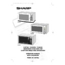 Sharp R-84ST (serv.man8) User Guide / Operation Manual
