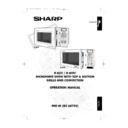 Sharp R-852 (serv.man3) User Guide / Operation Manual