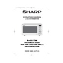 Sharp R-85STM (serv.man2) User Guide / Operation Manual