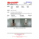 Sharp R-85STM (serv.man3) Technical Bulletin