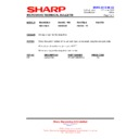 Sharp R-85STMA (serv.man24) Technical Bulletin