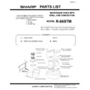 Sharp R-86STM (serv.man14) Parts Guide