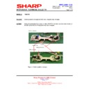 Sharp R-86STM (serv.man25) Technical Bulletin