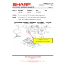 Sharp R-86STMA (serv.man15) Technical Bulletin