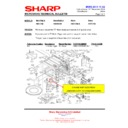 Sharp R-86STMA (serv.man20) Technical Bulletin