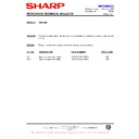 Sharp R-870AM (serv.man7) Technical Bulletin