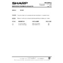 Sharp R-870AM (serv.man9) Technical Bulletin