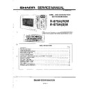 Sharp R-870AM Service Manual
