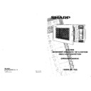 Sharp R-8720M (serv.man4) User Guide / Operation Manual