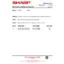 Sharp R-872M (serv.man15) Technical Bulletin