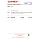 Sharp R-872M (serv.man19) Technical Bulletin